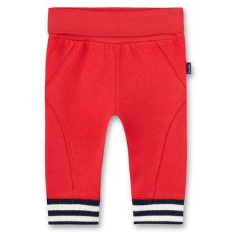 SANETTA Baby boys pants red Inter Galactic