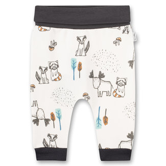 SANETTA Baby boys sweatpants Off-White Indian Little Panda
