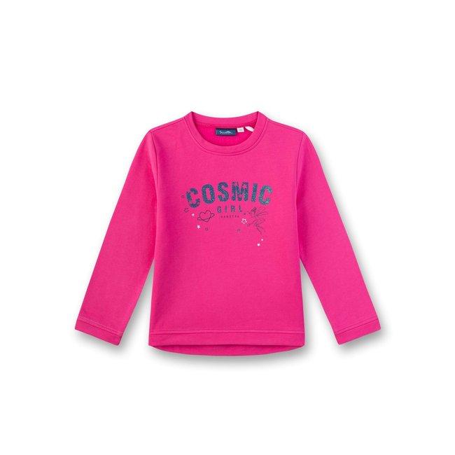 SANETTA Girls sweatshirt strong pink