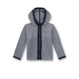SANETTA Boys fleece jacket gray melange Gamer