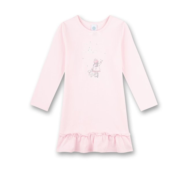 SANETTA Girls sleep shirt w.print sorbet