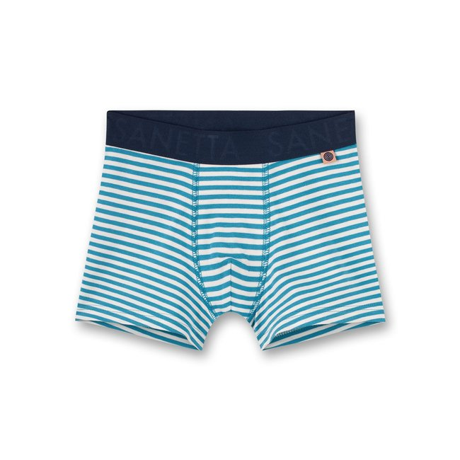 SANETTA Boys shorts blue-ringed Rocketman