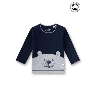 SANETTA Baby boys shirt shadow blue