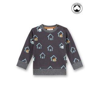 SANETTA Baby boys sweatshirt dark gray