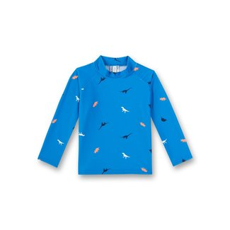 SANETTA Boys rashguard beach blue