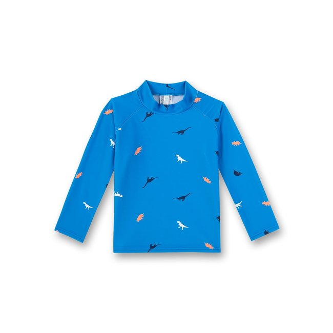 SANETTA Boys rashguard beach blue