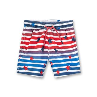 SANETTA Boys swim trunks woven karmin