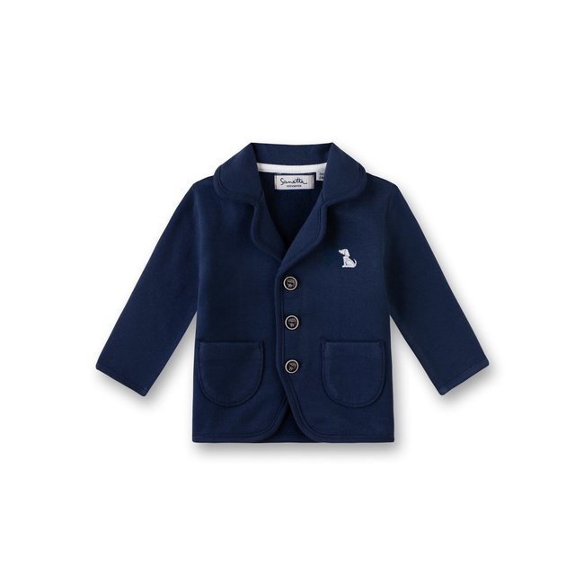SANETTA Baby boy's sweatjacket deep blue