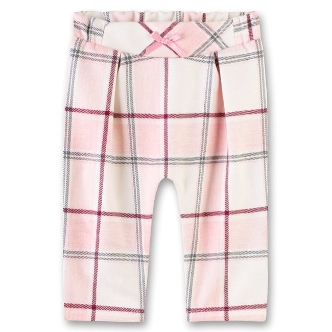 SANETTA Baby girls pants lined hellrosa