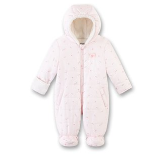 SANETTA Baby girls outdooroverall hellrosa