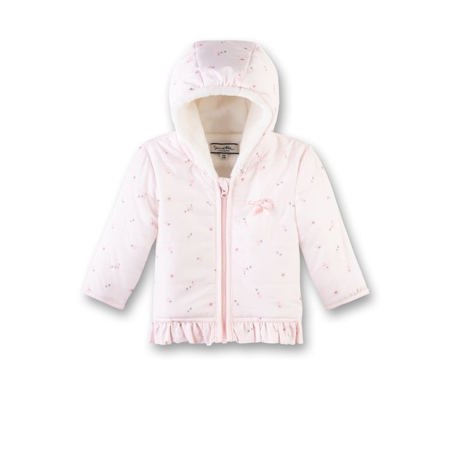 SANETTA Baby girls outdoorjacket hellrosa