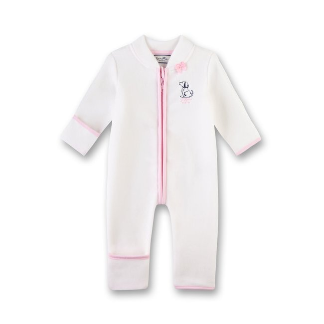 SANETTA Baby girls outdooroverall ivory