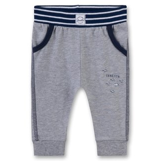 SANETTA Baby boy's pants grey mel