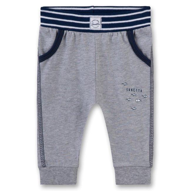 SANETTA Baby boy's pants grey mel