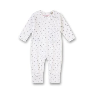SANETTA Baby girls' overall with a folding foot