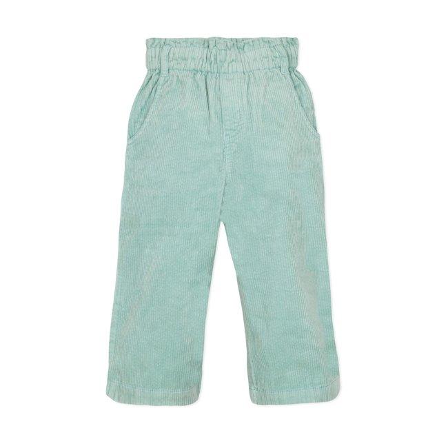 CATIMINI Girls' plain puebla velvet trousers