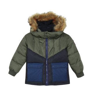 CATIMINI Boys' coated jacket with hood