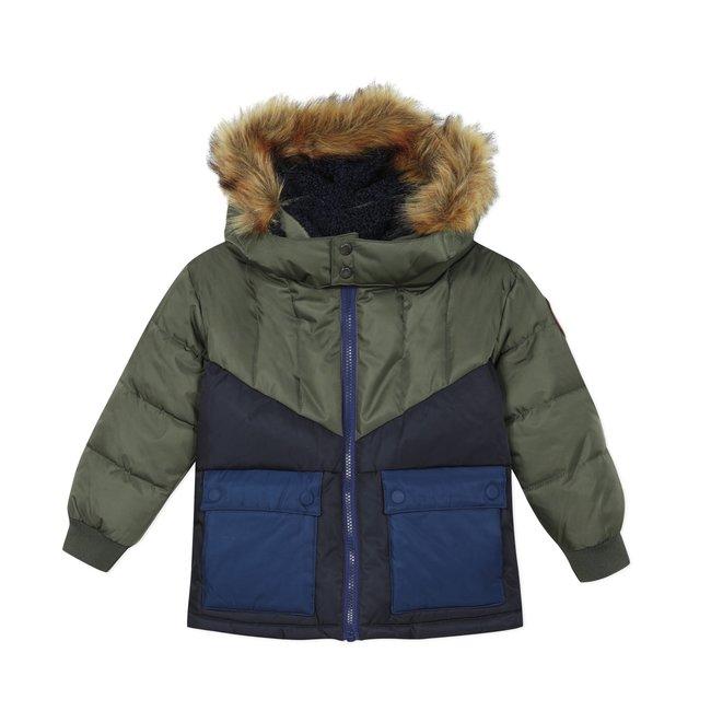 CATIMINI Boys' coated jacket with hood