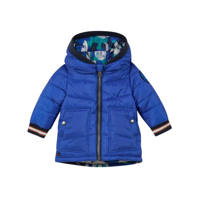 CATIMINI Baby boys' plain ribstop reversible puffa jacket
