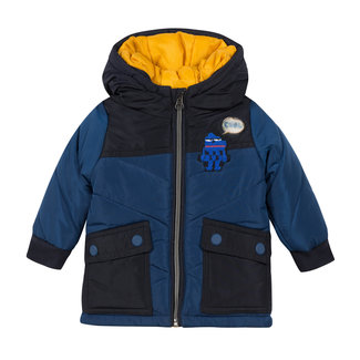 CATIMINI Baby boys' two-tone coated fabric parka