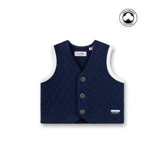 SANETTA Baby boys vest deep blue