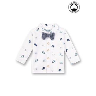 SANETTA Baby boys shirt ivory (fiftyseven)
