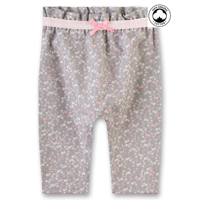 SANETTA Baby girls pants lined rauch