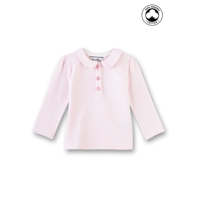 SANETTA Baby girls shirt magnolie
