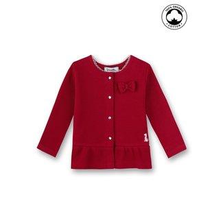 SANETTA Baby girls sweatjacket rosso