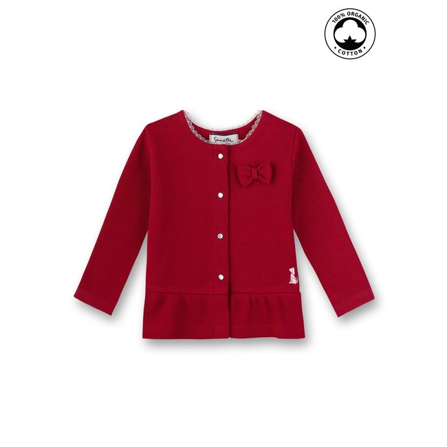 SANETTA Baby girls sweatjacket rosso