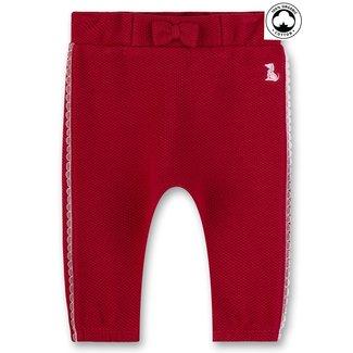 SANETTA Baby girls pants rosso