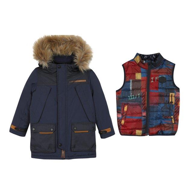 CATIMINI Boy's marine down jacket