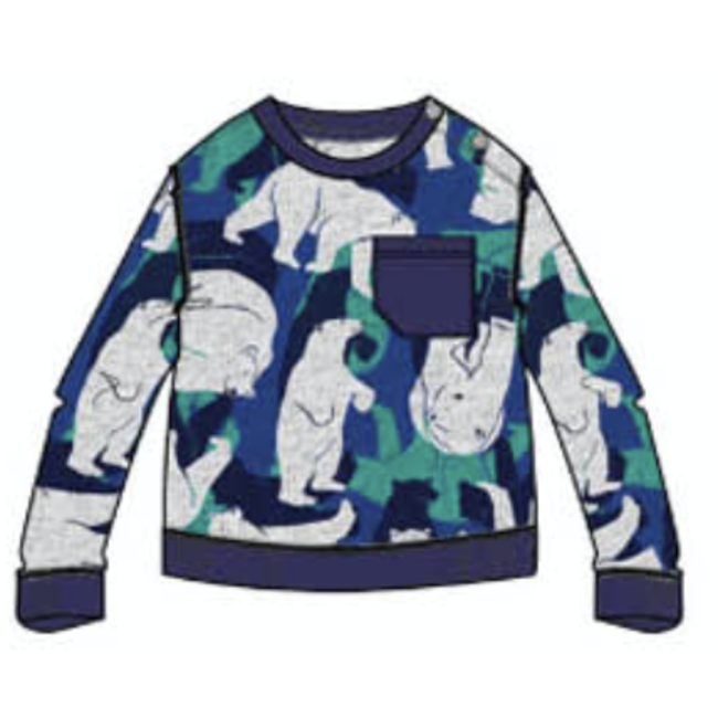 CATIMINI Baby boy's patch sweatshirt