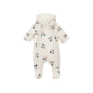 CATIMINI Baby boys' printed padded and quilted jumpsuit