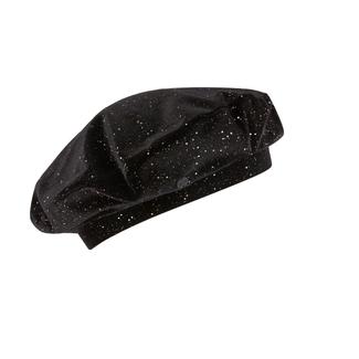 SONIA RYKIEL Idole Velvet beret with rhinestones