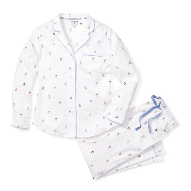 Petite Plume Women's Bateau Pajama Set