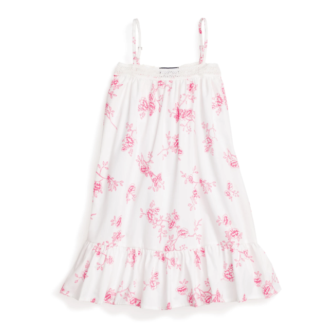Petite Plume English Rose Floral Lily Nightgown