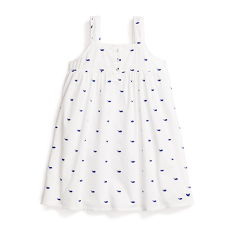 Petite Plume Whales Charlotte Nightgown