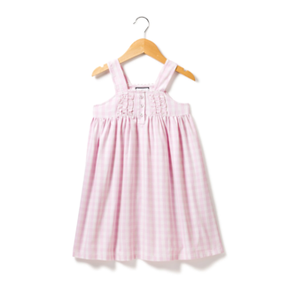 Petite Plume Pink Gingham Charlotte Nightgown