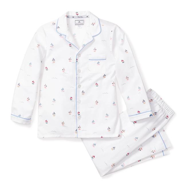 Petite Plume Bateau Pajama Set