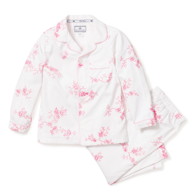 Petite Plume English Rose Floral Pajama Set