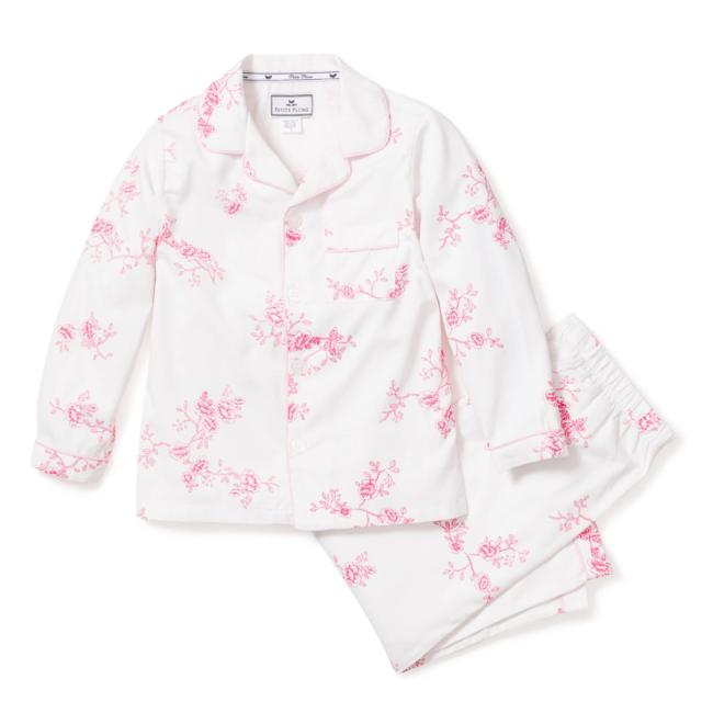 Petite Plume English Rose Floral Pajama Set