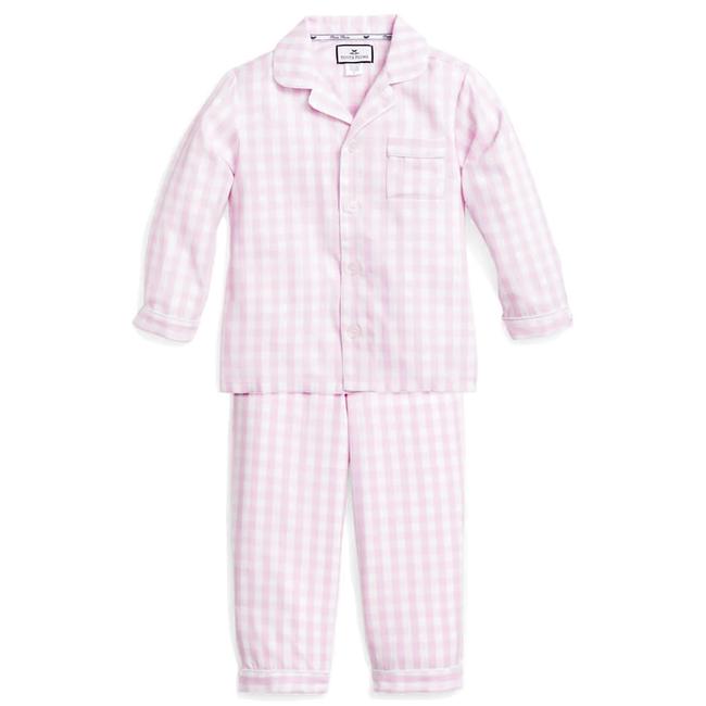 Petite Plume Pink Gingham Pajama Set