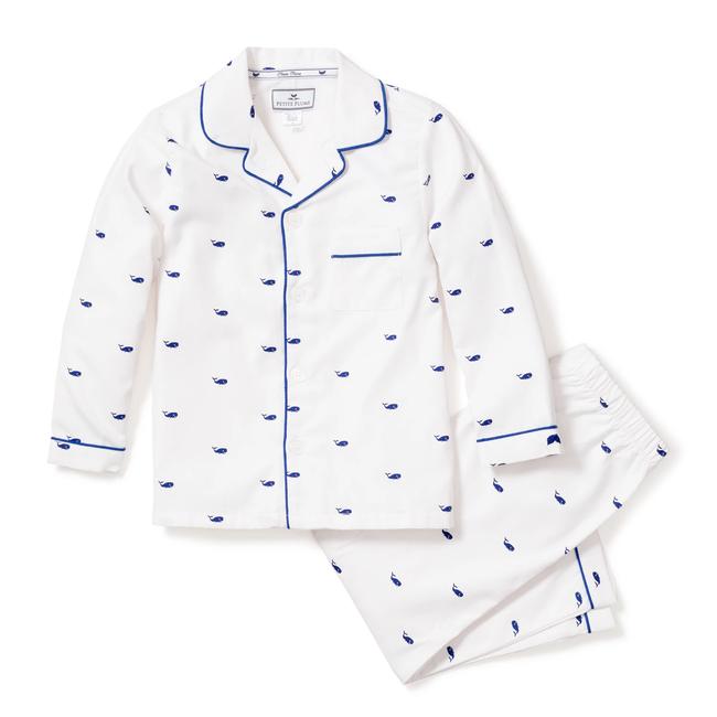Petite Plume Whales Pajama Set