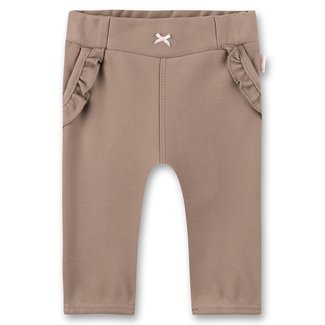 SANETTA Girls trousers brown Lovely Teddy