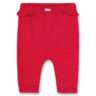 SANETTA Girls pants red Sweet Puppy