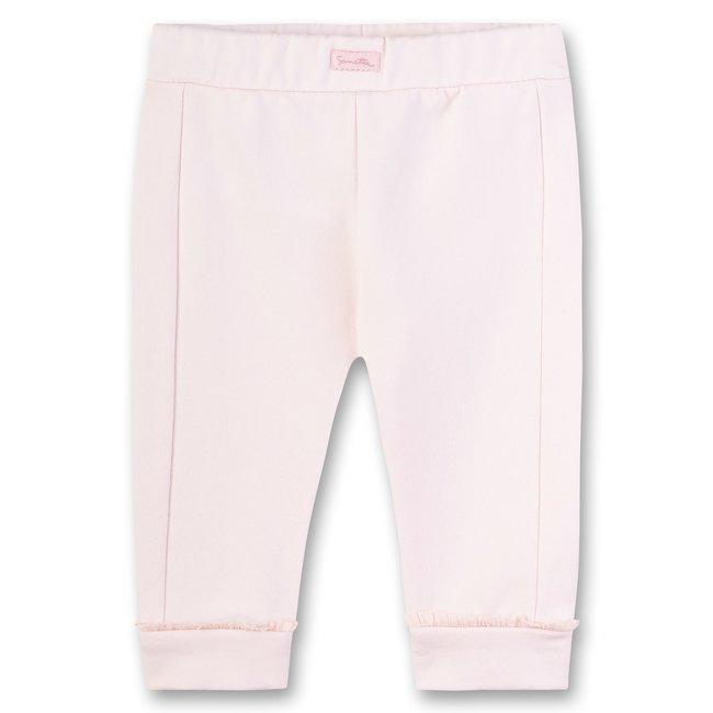 SANETTA Girls pants pink Lovely Bunny