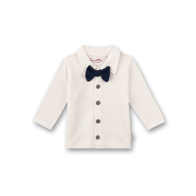 SANETTA Boys shirt Off-White Vintage Cars