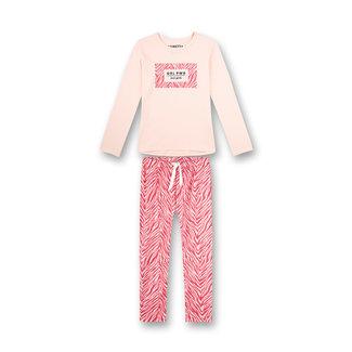 SANETTA Girls pajamas long pink athleisure roller girl