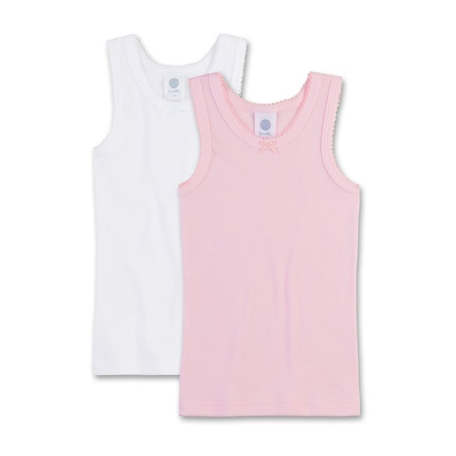 SANETTA Girls' undershirt (double pack)